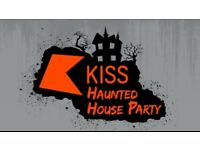 2 Tickets to the Kiss Fm Haunted House Party