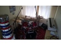 Drummer looking for depping work.