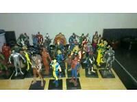 34, die-cast Marvel figures