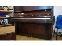 Farrand Piano and stool, full sized, dark wood, excellent playing condition!