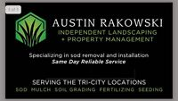 Summer sod specials (removal and install)