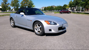 2003 HONDA S2000 LOW KM CLEAN TITLE CANADIAN CAR