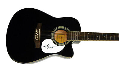 Tony Bennett Autographed Signed 12 String Acous/Electric Guitar AFTAL ()