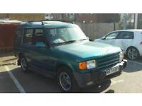 Landrover discovery MOT JULY diesel auto 7 seater spares or repair