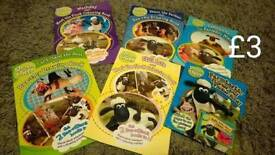 Shaun the sheep books