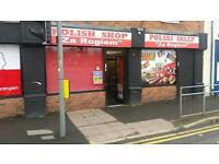 Polish Shop for sale in Farnworth