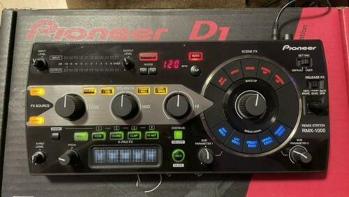 Pioneer RMX-1000 DJ Remix Station Effector Black Used Good Working From Japan