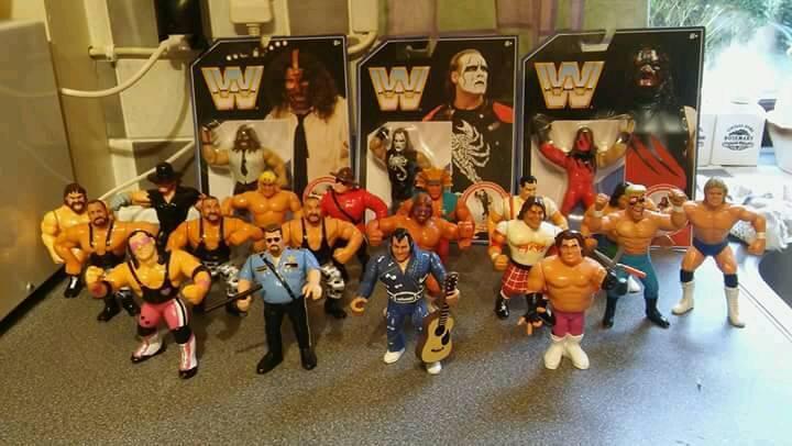 Wwf hasbro wrestling figures