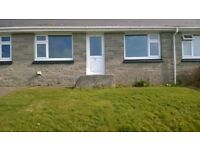 2 bed sea view bungalow in fowey