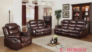 RECLINER SET ON BLOW OUT SALE