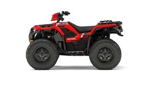 2017 Polaris SPORTSMAN 850 INDY RED