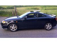 Hyundaicoupe se 2003 black with black leather S/History mot