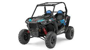Save $4100! 2017 RZR S 1000 EPS Stealth Black