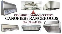 Canopies / Rangehood - Catering Equipment -Kit Canopy- Restaurant Campbellfield Hume Area Preview