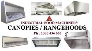 Canopies / Rangehood - Catering Equipment - Kit Canopy Campbellfield Hume Area Preview
