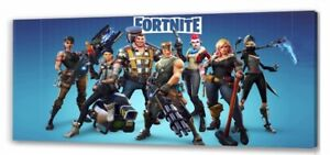 Fortnite Long Canvas Picture
