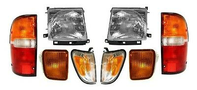 1998 - 2000 TOYOTA TACOMA 4WD W/PRE HEADLIGHTS, CORNER, SIGNAL & TAIL LAMPS ()