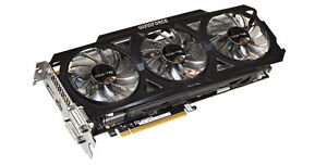 Gigabyte GTX 760 2GB 2xDVI/HDMI/DP OC WINDFORCE 3X Video Card