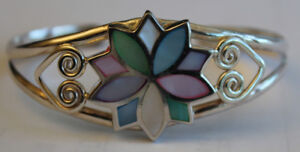 Sterling silver 925 mother of pearl bracelet