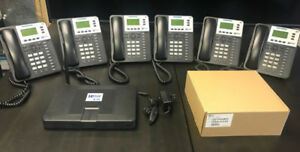 Office Phone System with 7 Handsets
