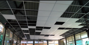 DROP CEILING INSTALLATION, SUSPENDED CEILING, T-BAR 647-994-7828