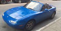 Mazda mx5 miata 1993 120000km!!!