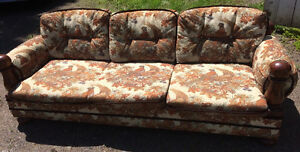 COUCH and CHAIR - great for camp or basement!