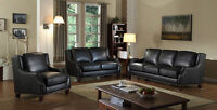 Genuine Leather Power Motion Sofa $1898
