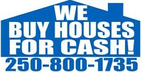 WE BUY HOUSES AS IS