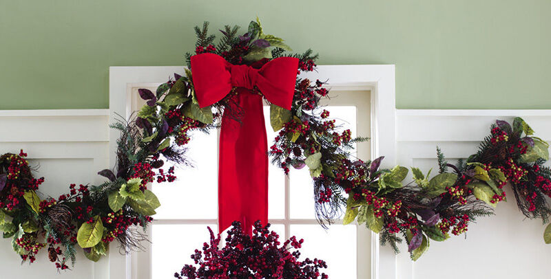 How To Use Berry Garlands For Home Decor Ebay