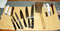 Knives and more sharpened by hand at competitive rates