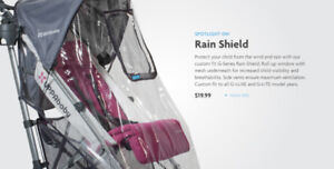 UPPAbaby rain cover for G-Lite and G-Luxe stroller