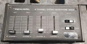Mixer 4 Channel