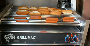 USED STAR COMMERCIAL HOT DOG ROLLER GRILL $500 FIRM