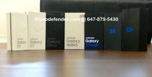 New Samsung Galaxy C5, S7, A8, S8, Unlocked Worldwide