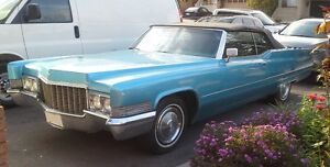 1970 Convertible Cadillac DeVille for Sale