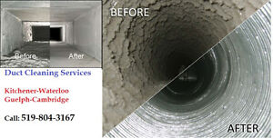 Duct Cleaning Services - KW Cambridge & Guelph Cambridge Kitchener Area image 1
