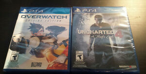 PS4 Game - Uncharted 4 = $60 | Never opened | Brand New West Island Greater Montréal image 1