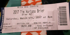 Brier 2017 tickets