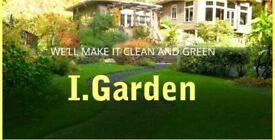 I.gardens and I.decorating - winter tidy, Decking, jet washing,
