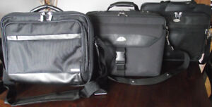 Three Laptop Carrying Cases