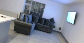 Olympia Plush Velvet Corner Sofa With Scatter Back Cushions