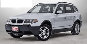 2004 BMW X3 3.0i with Factory GPS - driven daily