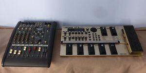 Mackie DFX6 Mixer + Boss GT-6  Guitar effects processor COSM