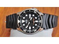Seiko SKX007k1 ISO 6425 Certified Dive Watch Brand New