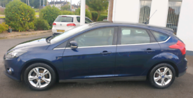 2013 Ford Focus 1.0 Turbo Eco (Parking sensors, Bluetooth, HPI clear)