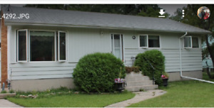 House for rent in Charles wood available sep 1