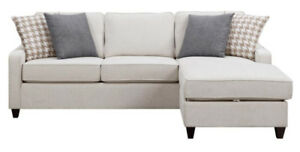 TIFFANY STORAGE SECTIONAL - NO TAX - FREE DELIVERY