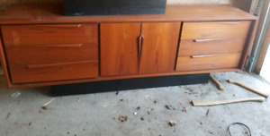 Authentic Teak Dresser
