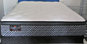 LIKE NEW QUEEN KINGSDOWN LUXURY BED can DELIVER